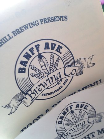 Banff Ave Brewing Co : Logo