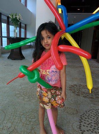 The Leela Ambience Gurugram Hotel & Residences: Ready with Baloon Guns!