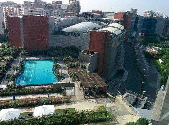The Leela Ambience Gurugram Hotel & Residences: View from Room