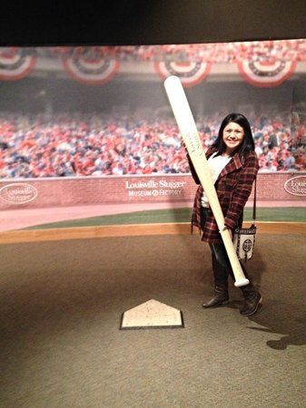 Louisville Slugger Museum & Factory : Awesome!