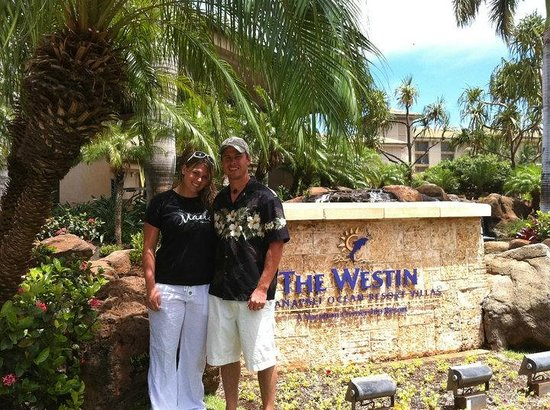 The Westin Kaanapali Ocean Resort Villas : Our last day of our honeymoon