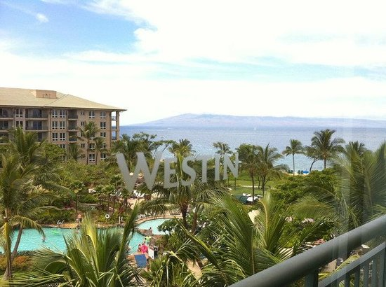 The Westin Kaanapali Ocean Resort Villas: View from our room
