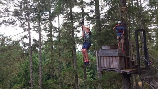 Adrena LINE Zipline Adventure Tours: A great adventure!