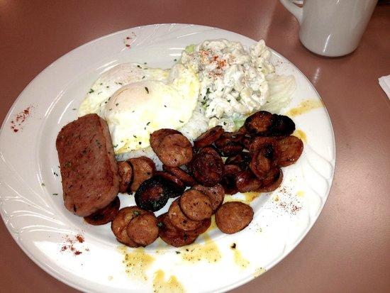 George's benedict - Picture of Pegs Glorified Ham n Eggs, Reno ...
