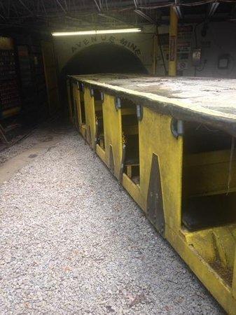 Tour-Ed Coal Mine: the mancar