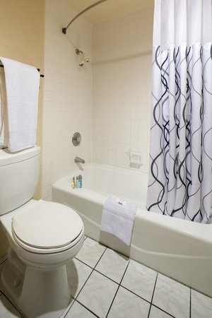 The Canoga Hotel: Guest bathrooms