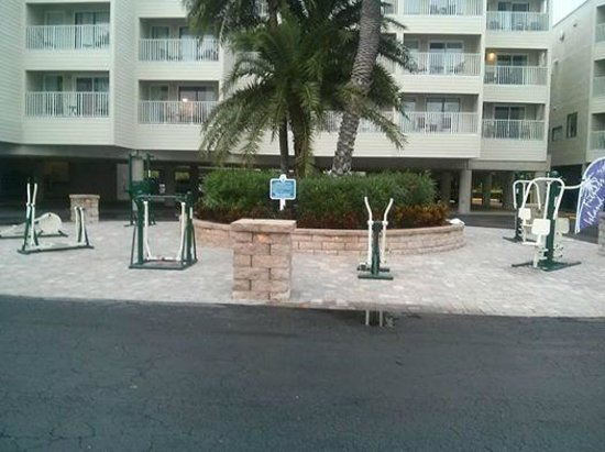 Sailport Waterfront Suites: Outside Fitness Center