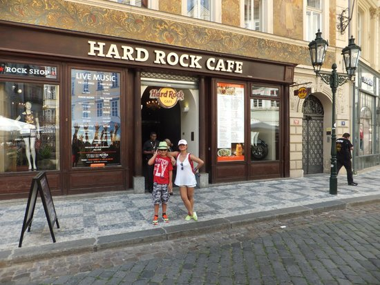 Hard Rock Cafe : Burger boy and I