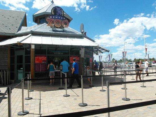 Denver Zoo: Entrance