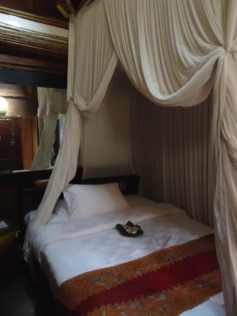 Bambu Indah : our bed