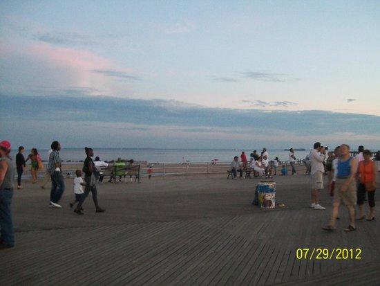 Coney Island USA : The Beach Coney Island NY