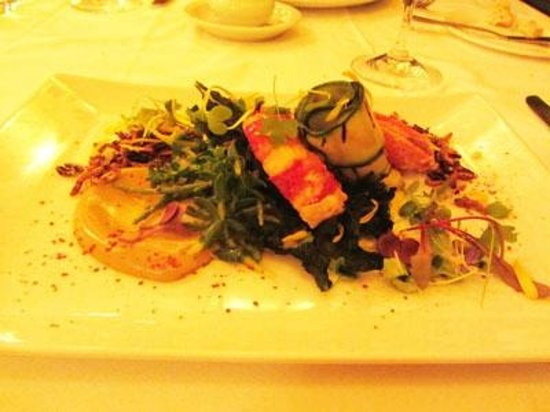 Restaurant Laloux: Lobster salad