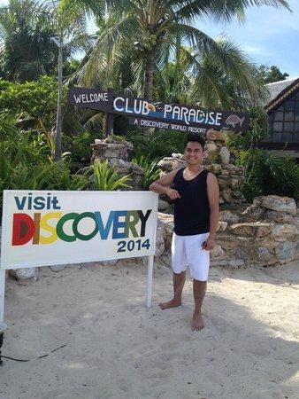 Club Paradise Palawan: Welcome HOME:)