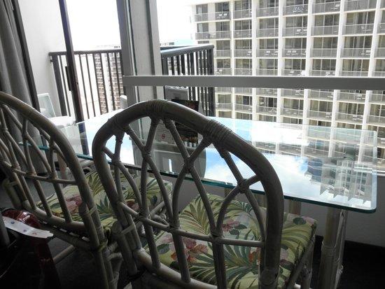 The Imperial Hawaii Resort at Waikiki : 部屋からの眺め