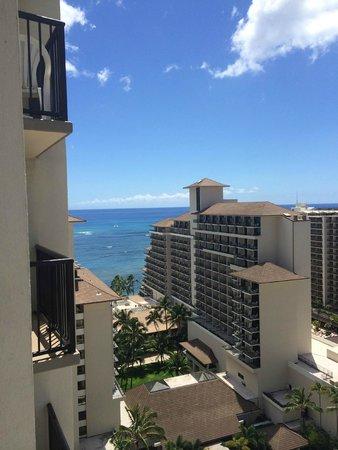 The Imperial Hawaii Resort at Waikiki : 20階からの眺め