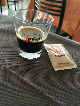 Hotel Palatinum: Caffè buono