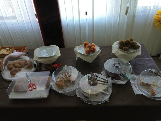 Hotel Palatinum: Buffet di dolci