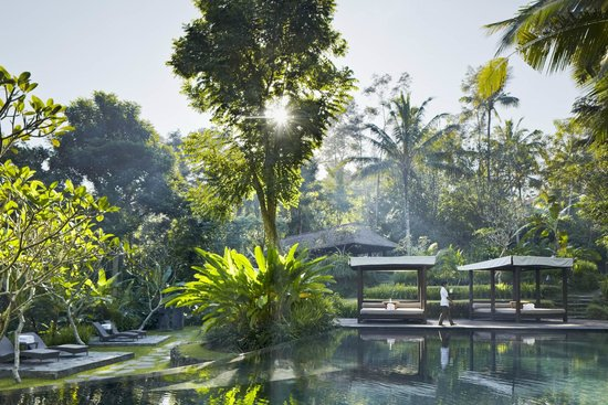 ‪كايومانيز أوبود برايفت فيلا آند سبا: Kayumanis Ubud Main Pool‬