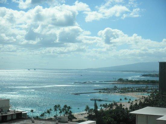 The Imperial Hawaii Resort at Waikiki: 屋上からの眺め
