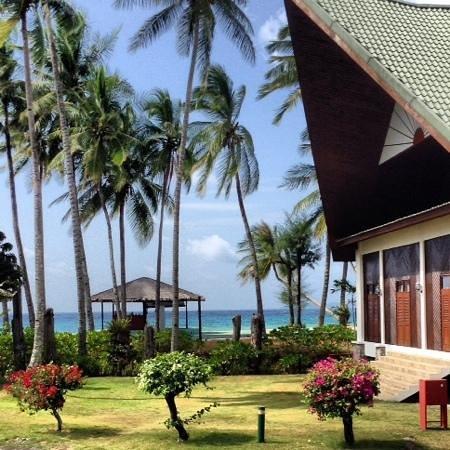 Berjaya Tioman Resort - Malaysia : view from the lobby