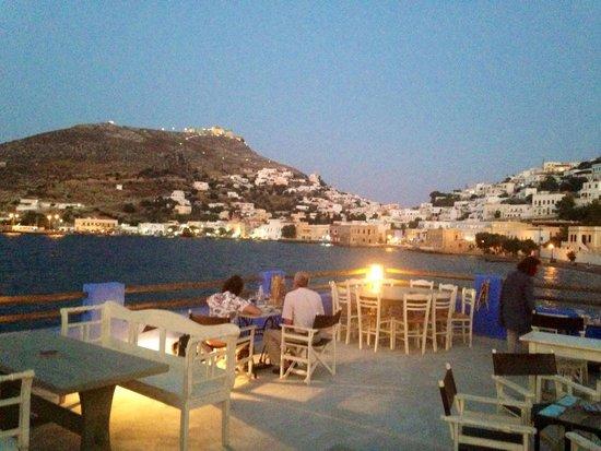 Mylos Fish Restaurant : La terrazza