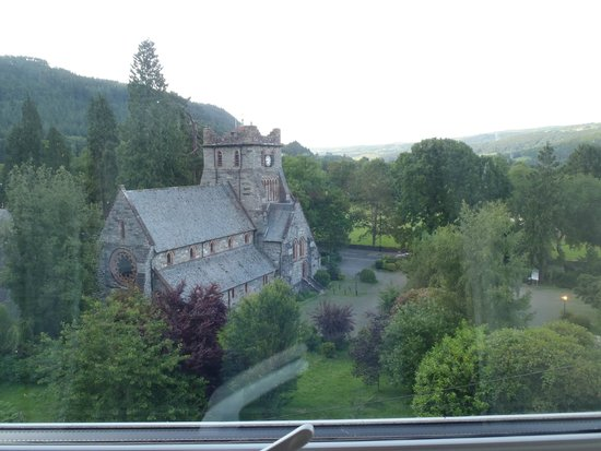 Coed-y-Fron Guest House: The view from Room 4 window