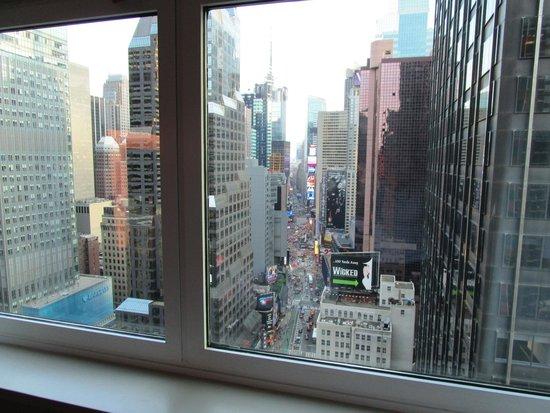 Novotel New York Times Square: chambre au 29e