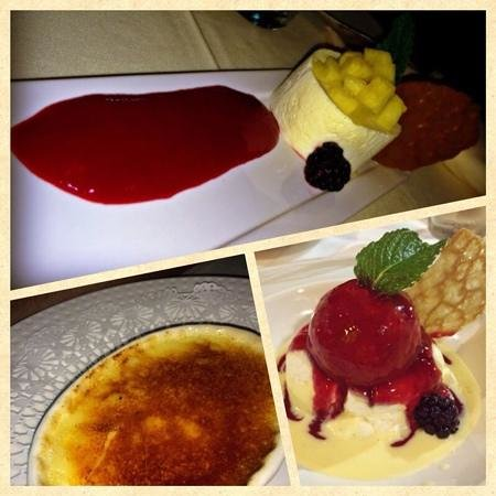 Le Yaca French Restaurant : their desserts are awosome