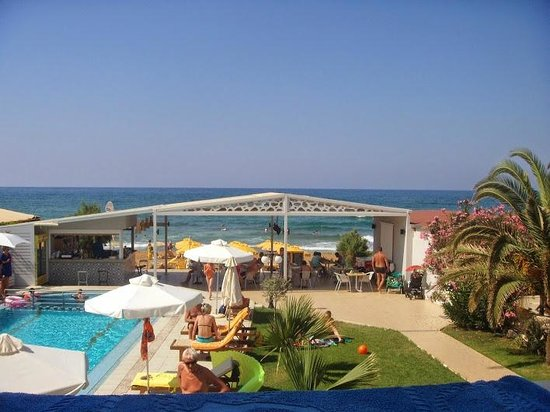 Tropicana Beach Hotel & Suites: Udsigt fra værelset