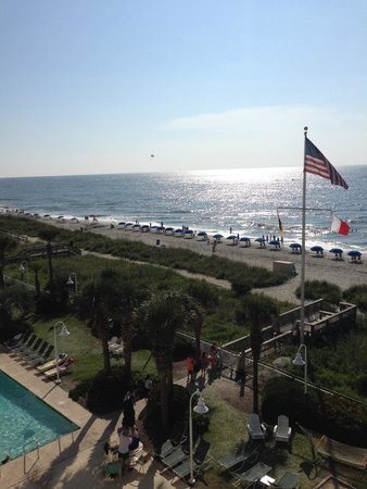 Hampton Inn & Suites Myrtle Beach/Oceanfront: More great views