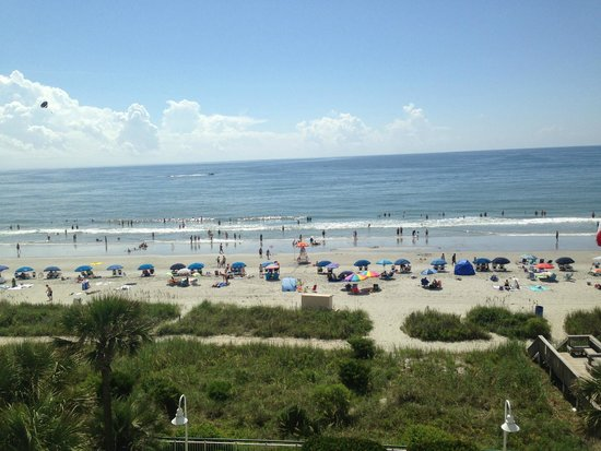 Hampton Inn & Suites Myrtle Beach/Oceanfront: Just another shot..........of The view