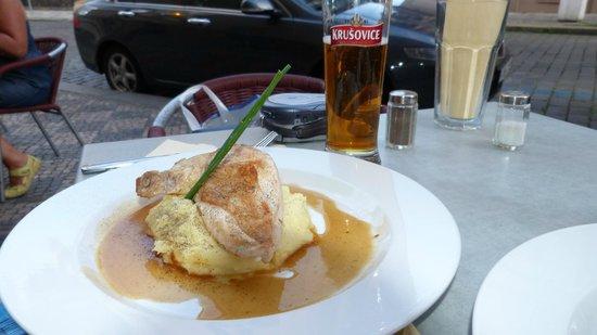 Restaurace Stoleti : One of dishes in Restaurant Stoleti - Prague