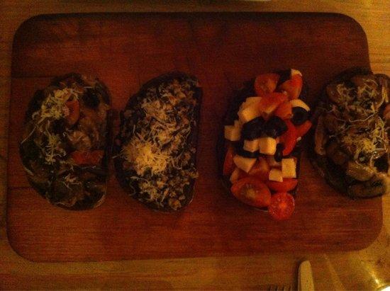 Pan di Bacco: Bruschette miste