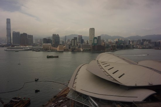 Grand Hyatt Hong Kong: View of the harbour