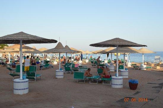 Domina Coral Bay Sultan: пляж султана