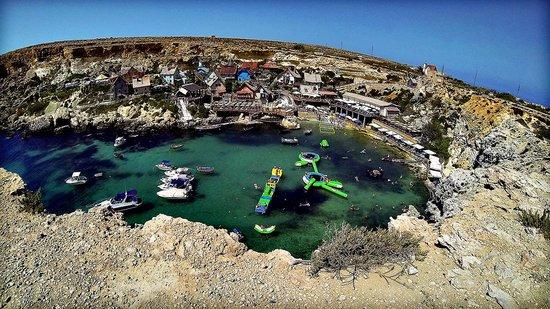 Popeye Village Malta: View of the village...