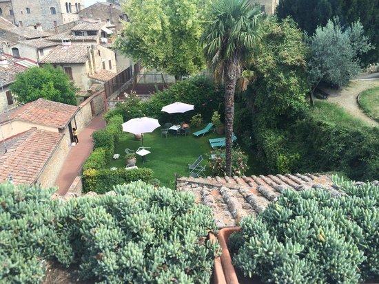 Locanda La Mandragola: Secret garden