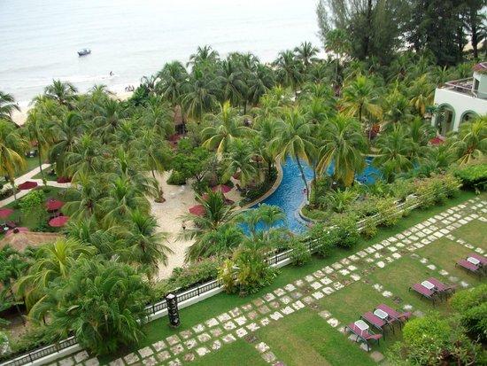 PARKROYAL Penang Resort, Malaysia: View from balcony