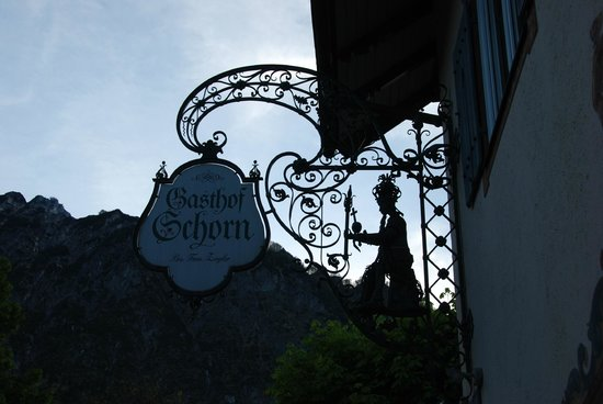 Gasthof Schorn : View from the street