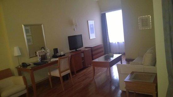 Radisson Blu Ridzene Hotel: Номер без вида из окна :)