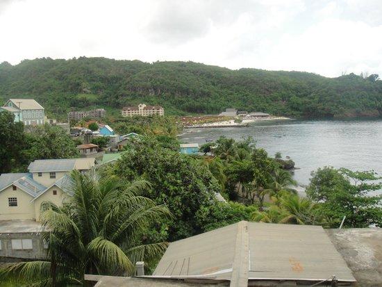 Buccament Bay Resort: View of resort