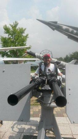 Monumento de Guerra de Corea: AA gun