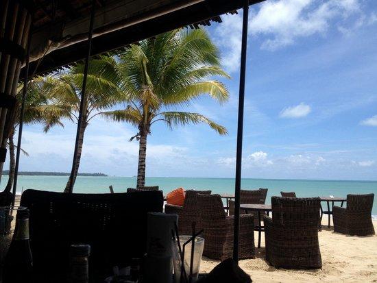 Beyond Resort Khaolak: blick von der bar