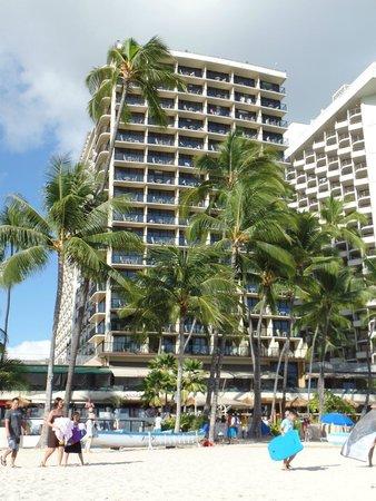 Outrigger Waikiki Beach Resort: From the beach