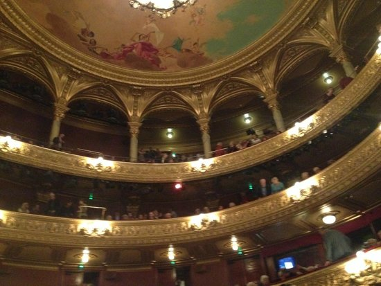 Opera House (Operan) : view of the private boxes