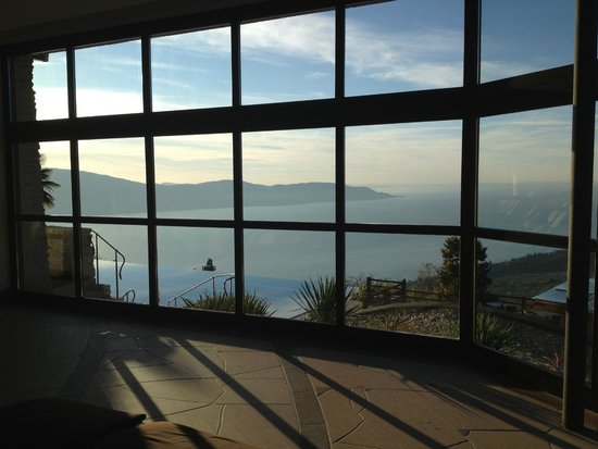 Lefay Resort & Spa Lago di Garda: View from spa