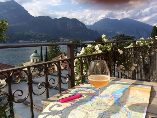 Hotel Silvio: Great location on the outskirts of Bellagio