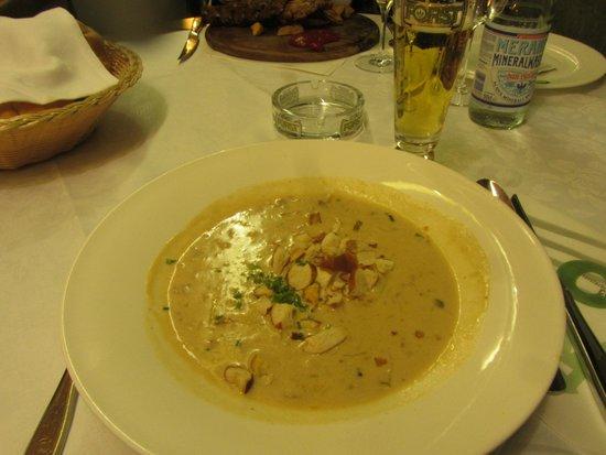 Forsterbräu Meran: zuppa di birra....eccellente
