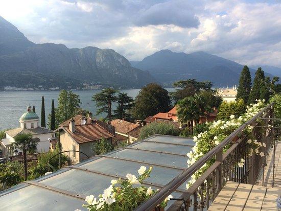 Hotel Silvio: View from balcony of Room #5.
