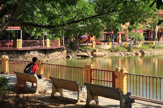 Quiet Oriental Village